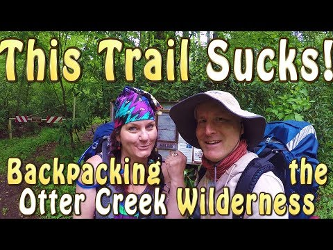 THIS TRAIL SUCKS! West Virginia Backpacking