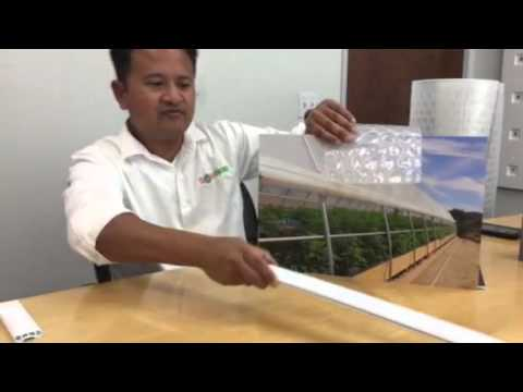 Solawrap Films Roll-up Curtain for Greenhouses