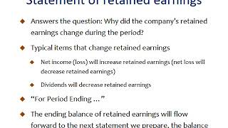 Download Video Facebook, Inc.: Step-by-step statement of retained earnings MP3 3GP MP4