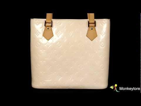 Authentic Louis Vuitton Monogram Vernis Houston