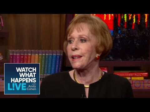 Carol Burnett And Andy Go Outside The Actor's Studio - WWHL