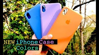 NEW 2019 Spring Official iPhone XS/XS Max Cases - Review // ALL COLORS!