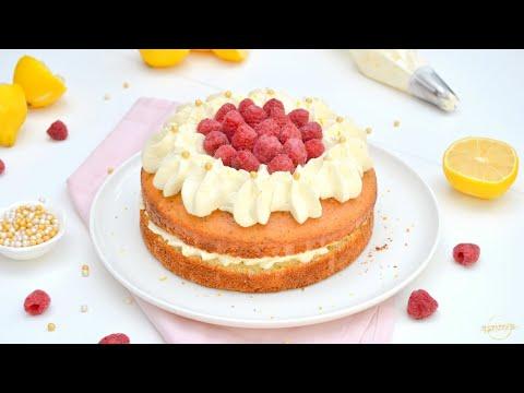 cake-frais-citron-&-framboises-!
