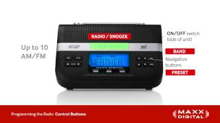 Radio Programming for Your Maxx Digital Automatic Alert Radio