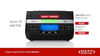 Radio Programming forYour Maxx Digital Automatic Alert Radio