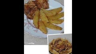 Firinda tavuk pirzola | diyet yemekleri 🙆| baked chicken recipe - Yağ ilavesiz, firinda pismis tavuk pirzolalari.. Afiyet olsun..