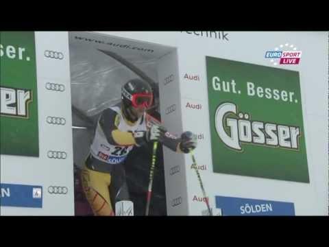 Ski World Cup (Soelden 2012) Giant Slalom Men 2nd Run