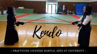 Train with me: doing KENDO at Japanese University!