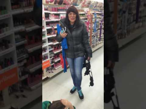 Woman in Walmart walks without Brace after Prayer!