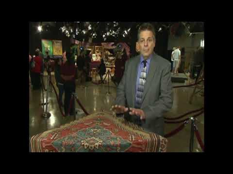 Frank Shaia is a wealth of knowledge and experience on Antique Oriental Rugs!