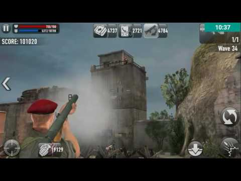 Frontline Commando D-Day. Base defense Wave 26-62