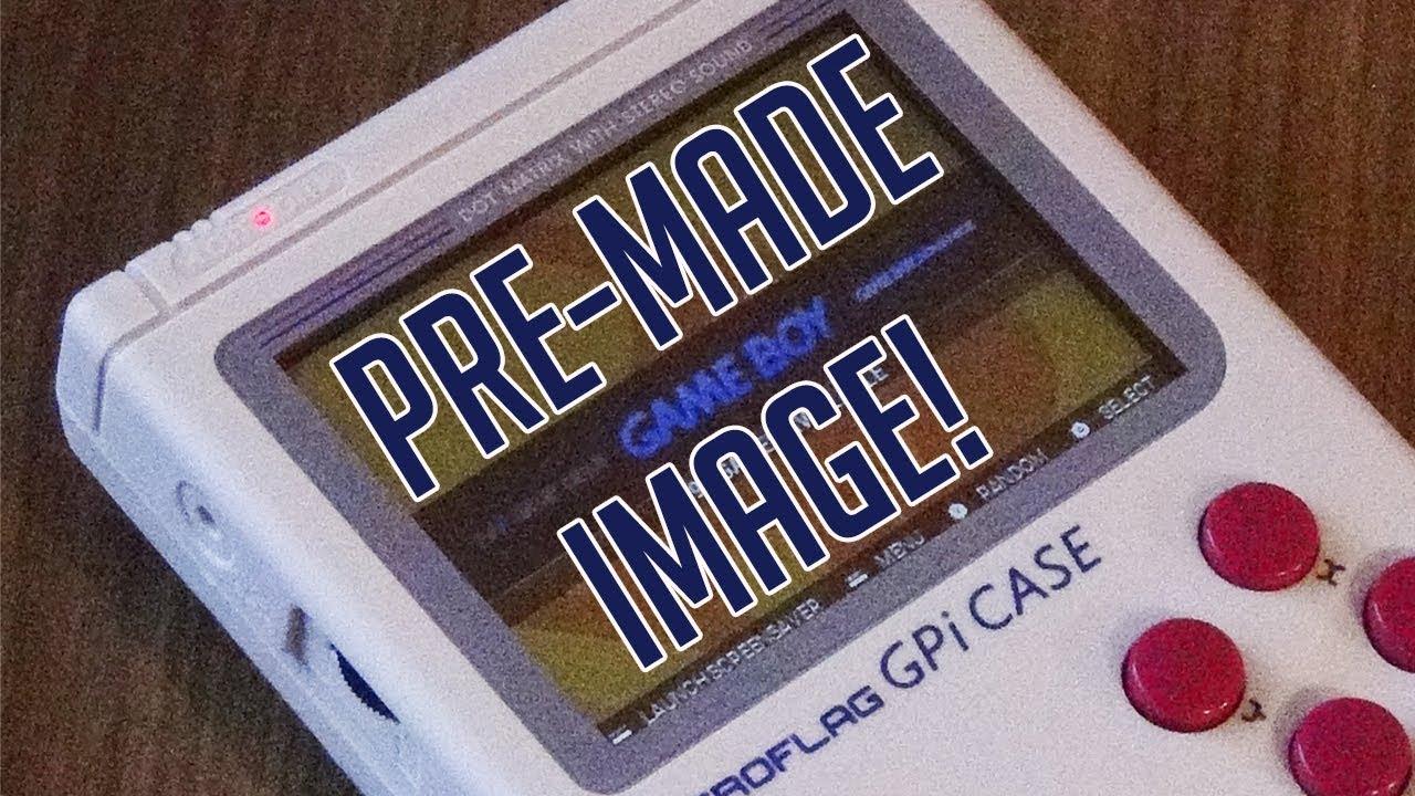Ultimate GPi Case Image Completely Pre Configured!