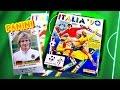 PANINI ITALIA ´90 ITALIEN WORLD CUP STICKER ALBUM SOCCER 1990 Fußballweltmeisterschaft 90 Sammelalbum Deutschland GERMANY ITALIA ...