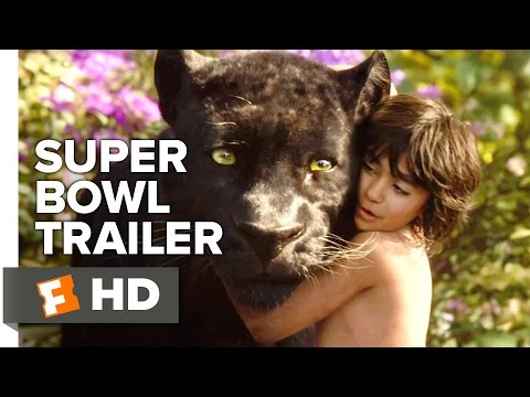 The Jungle Book Official Super Bowl Trailer (2016) - Scarlet
