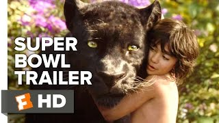 The Jungle Book Official Super Bowl Trailer (2016) - Scarlett Johansson, Bill Murray Movie HD