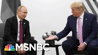Donald Trump Jokes About 'Fake News' With Putin Who's Had Journalists Killed | The 11th Hour | MSNBC