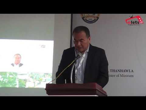 Shri Zodintluanga, Hon'ble Urban Development & Poverty Alleviation Minister, Government of Mizoram