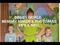 DISNEY WORLD/MEMORY MAKER/TIPS
