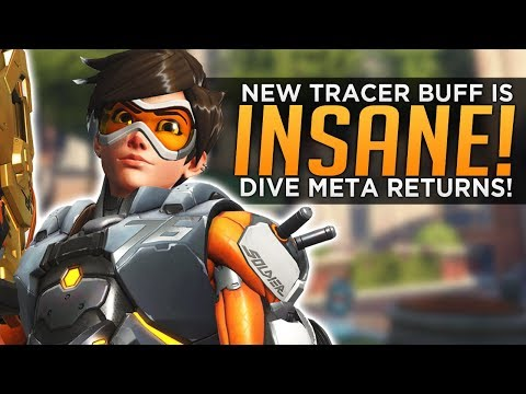 Overwatch: NEW Tracer Buff Is INSANE! - Dive Meta Is BACK!