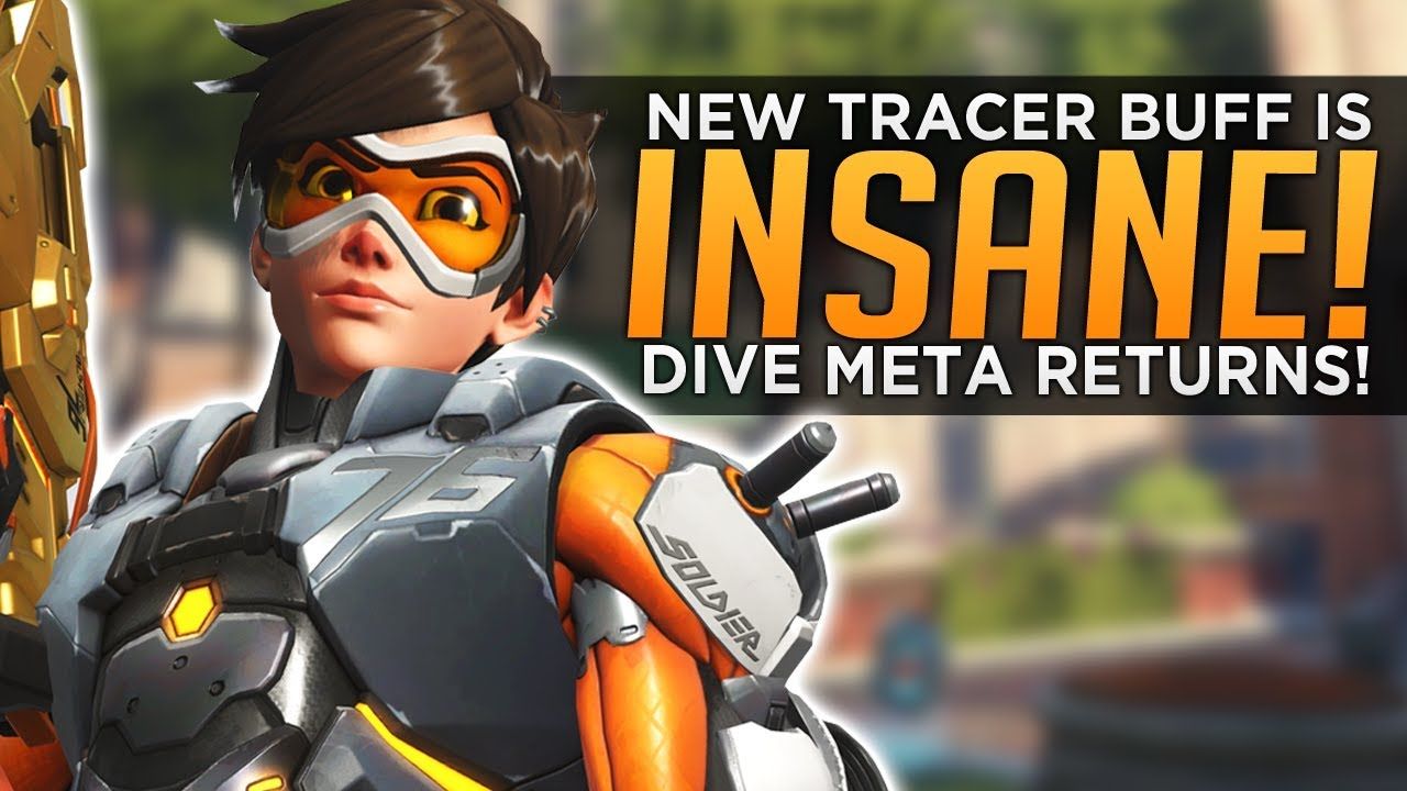 Overwatch: NEW Tracer Buff is INSANE! - Dive Meta is BACK! thumbnail