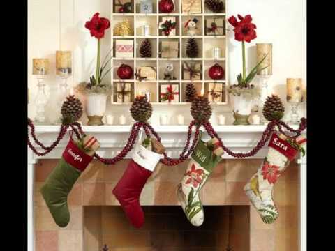 mantel christmas decorations ideas for festival december season xmas pics around the fireplace