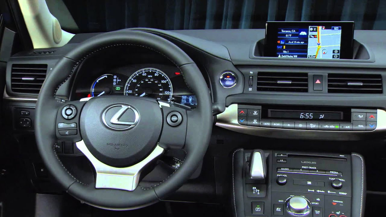2015 Lexus CT 200h Exterior and Interior