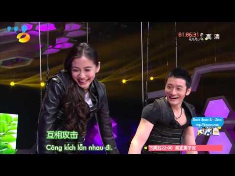 [Vietsub] [Happy Camp 02.05.2015] Dương Mịch, Huỳnh Hiểu Minh, Angela Baby, Mã Tô