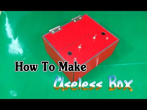 [Tutorial] How to make useless box machine