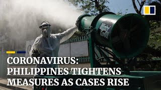 Tightened measures and panic buying in Philippines as coronavirus cases rise to 49