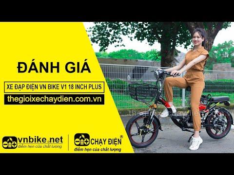 Đánh giá xe đạp điện Vnbike V1 18inch Plus