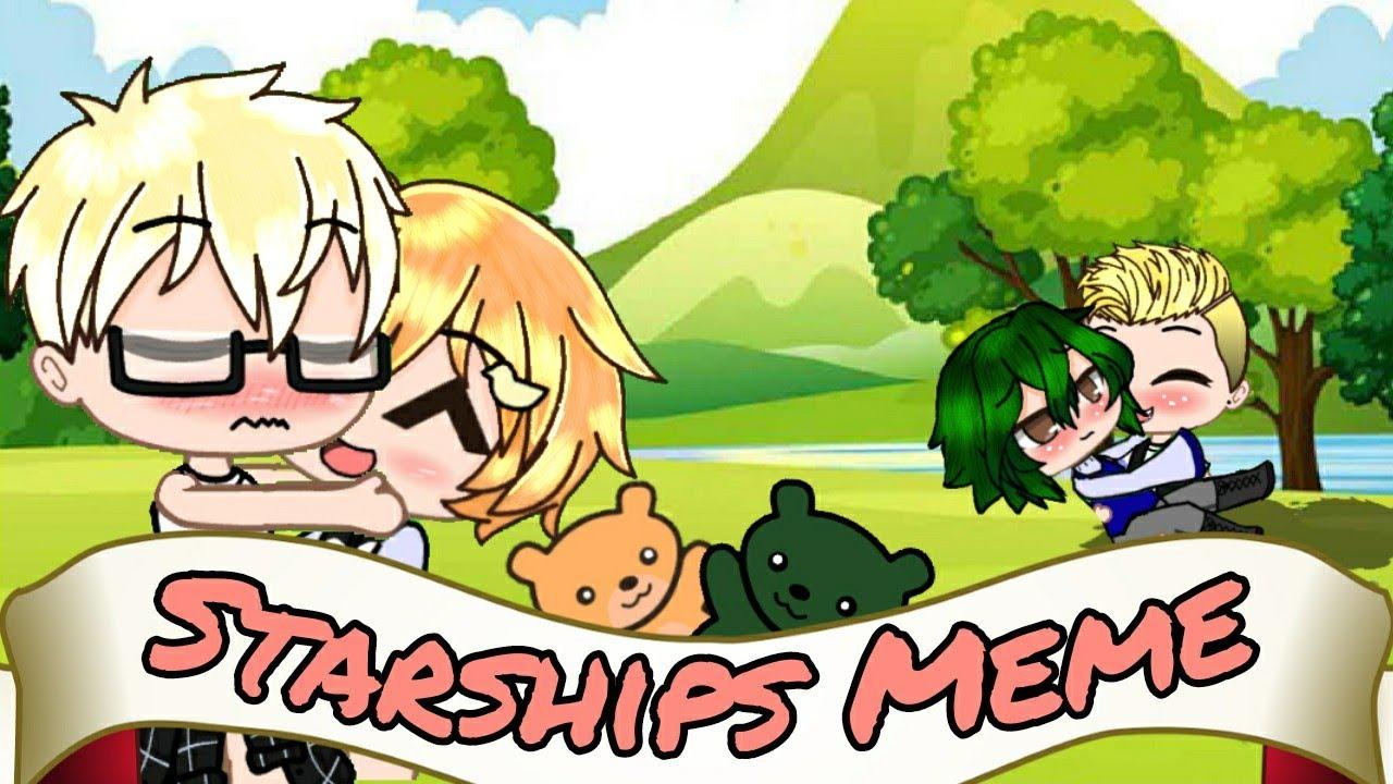 Starships Meme || Tsukihina And Teruyama ||