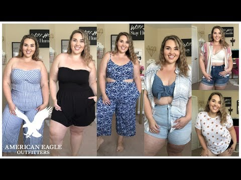 American Eagle Try On HAUL Summer 2019| Sarah Rae Vargas