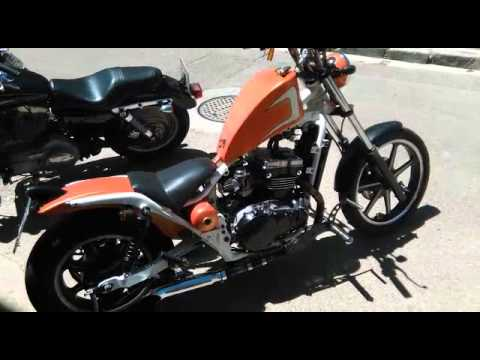 Kawasaki Vulcan En 500 Bobber Youtube