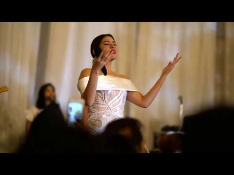 Raisa  Jatuh Hati  at Rachel & Nikos Wedding