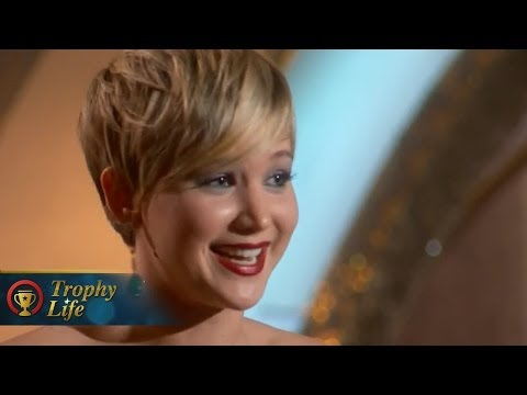 Jennifer Lawrence Wins Best Supporting Actress at Golden Globe Awards 2014