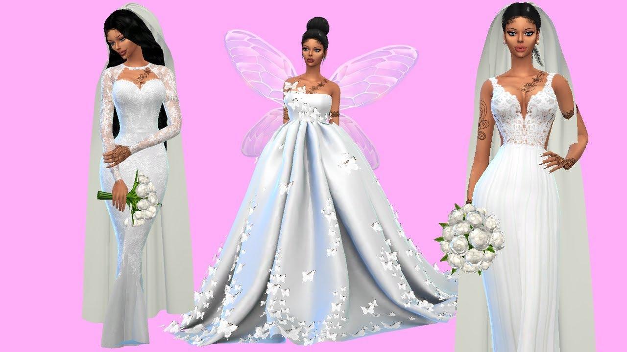 Sims 4 Wedding Dresses Tumblr – DACC