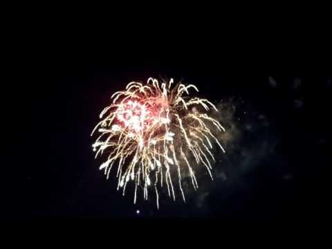 Kaboom Town Fireworks Addison TX July 3, 2017