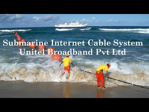 India is connected to  Submarine Internet Cable By Etutor India