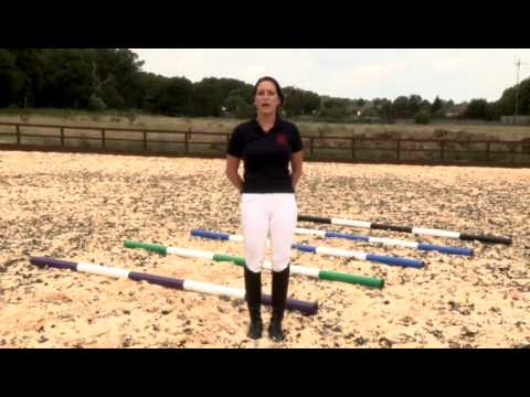 How To Use Trot Poles Horse Riding