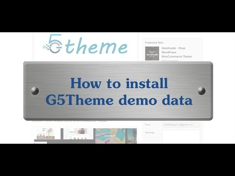 How to Install Orson with Demo Data?