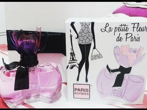 la petite fleur de paris by paris elysees youtube. Black Bedroom Furniture Sets. Home Design Ideas