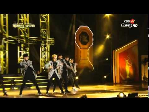 150122 Seoul Music Awards 2015 GOT7 Intro + 하지하지마 (Stop Stop It)