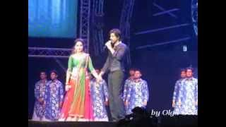 SRK @iamsrk Live Concert in Dubai with Madhuri & Deepika - 1 december 2013 (part 4)