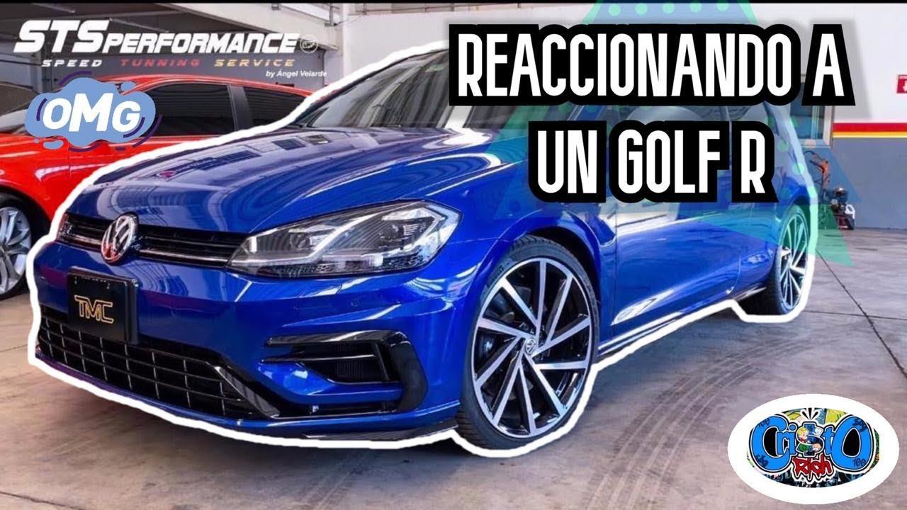 NOS PRESTARON UN GOLF R ||TERMINAMOS JUGANDO ARRANCONES||