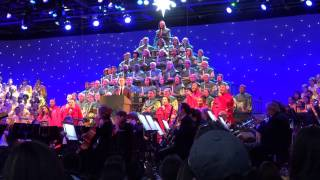 2016 Candlelight Processional REJOICE w EXCEEDING GREAT JOY w Neil Patrick Harris at Disney Epcot