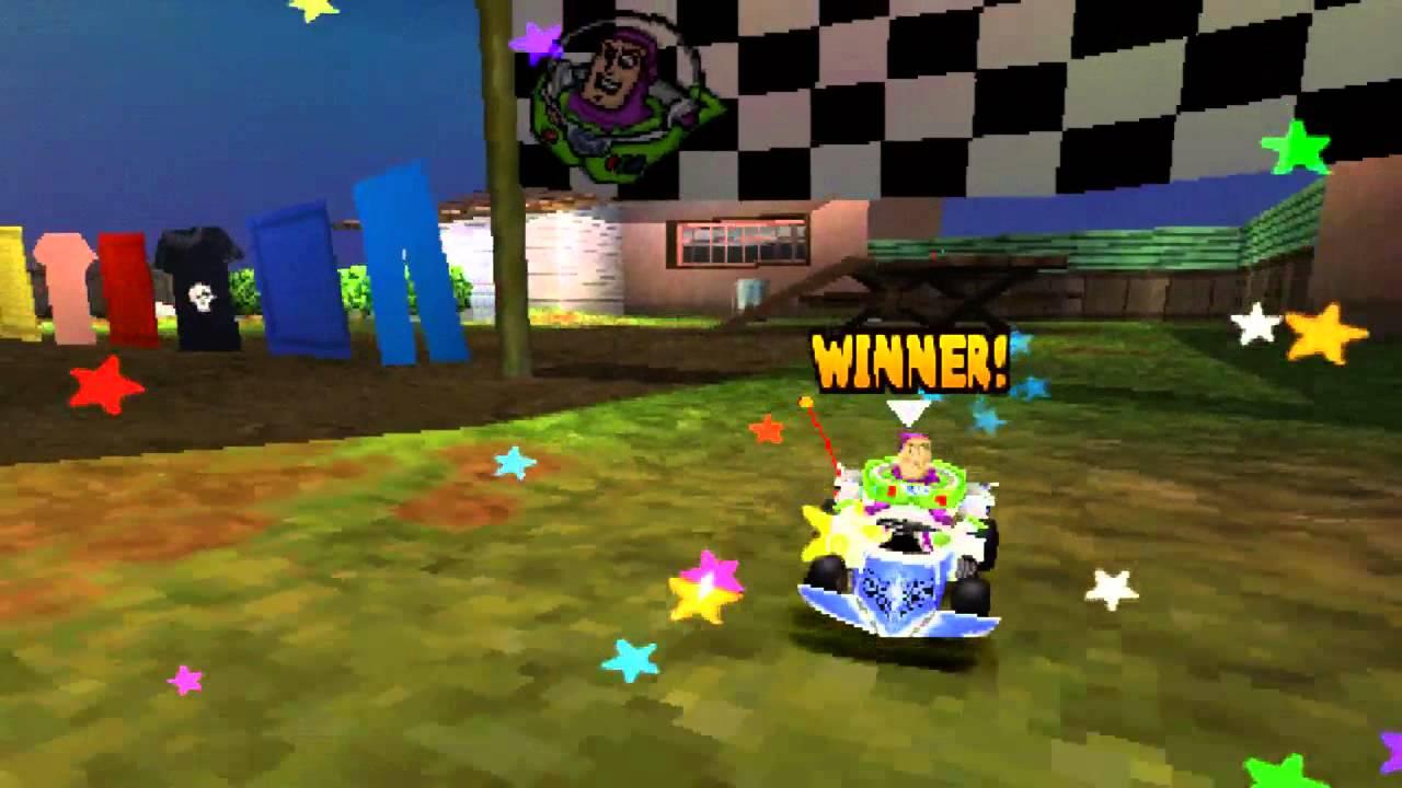 Juegos Variados Toy Story Racer Psx Youtube