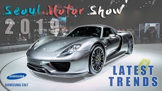The Latest Car Trends in 2019   Eco-Friendly Electric Vehicles   Seoul Motor Show 2019