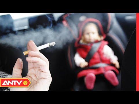 Thương tâm, bé trai 1 tháng tuổi tử vong do hít phải khói thuốc lá   An toàn sống   ANTV