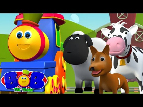 Bob The Train | Went To The Farm | Old MacDonald Had A Farm by Bob The Train