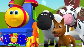 Bob The Train | Went To The Farm | Old MacDonald Had A Farm by Bob The Train